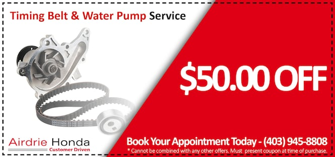 Timing Belt & Water Pump Service